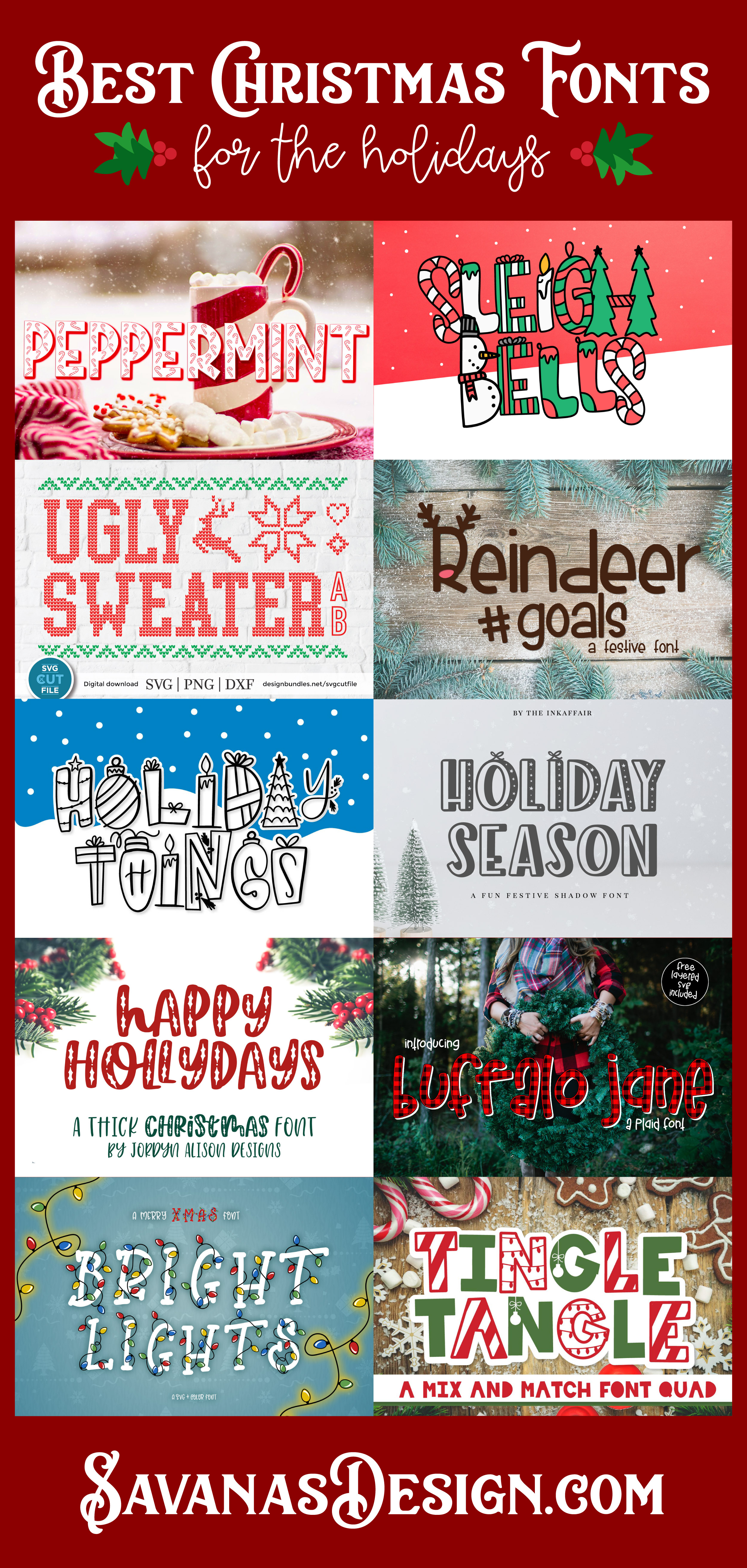 Best Christmas Fonts for the Holidays