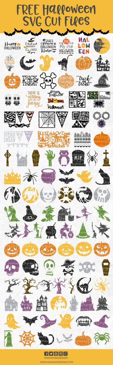 Free Halloween SVG Cutting Files