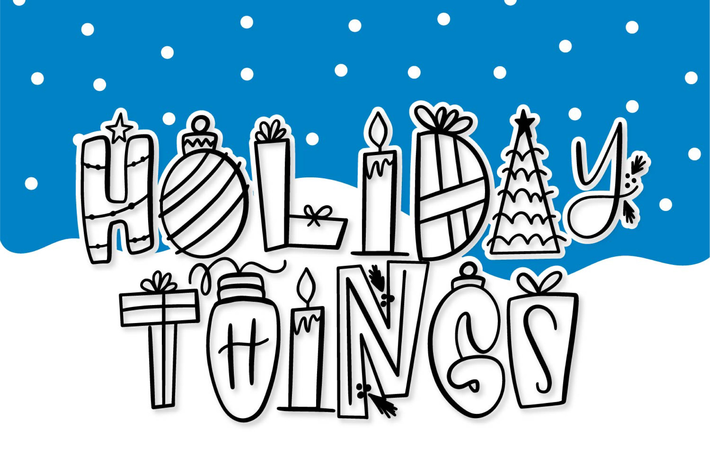 Holiday Things by Justina Tracy