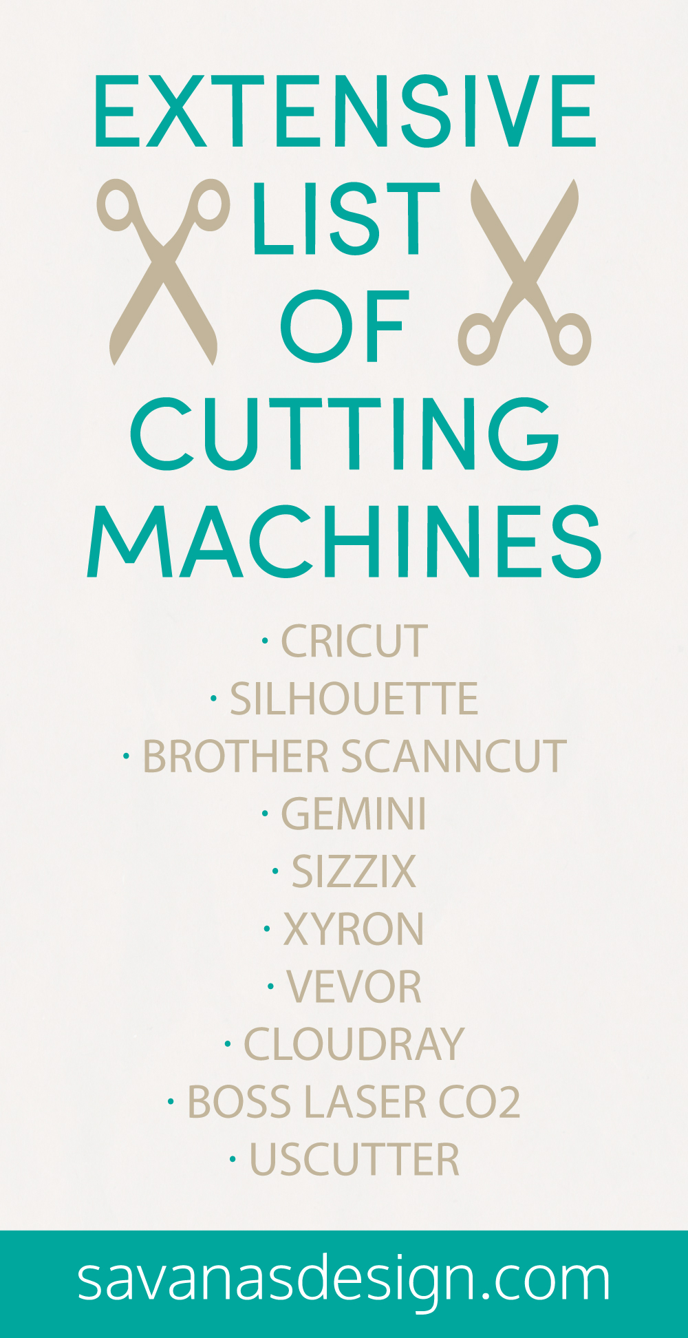 Extensive List of Cutting Machines Pinterest