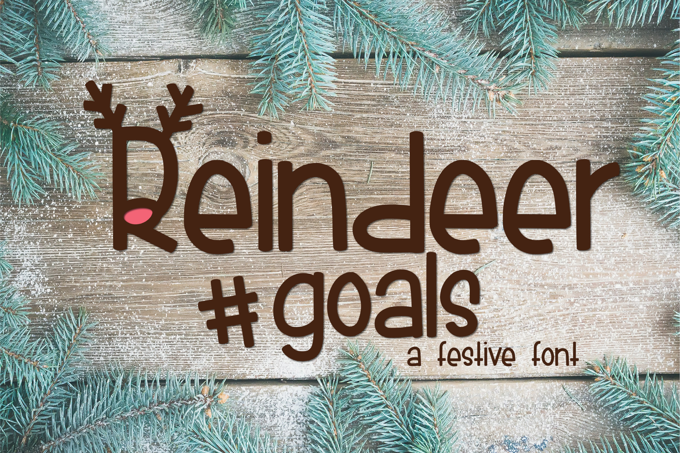 Reindeer Goals by Kitaleigh